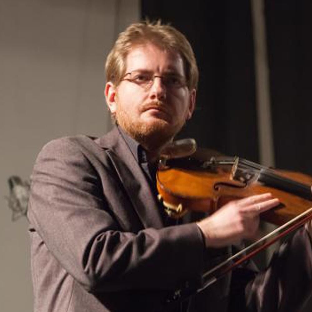 violinista tocando